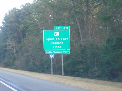 I-10 East - Exit 38