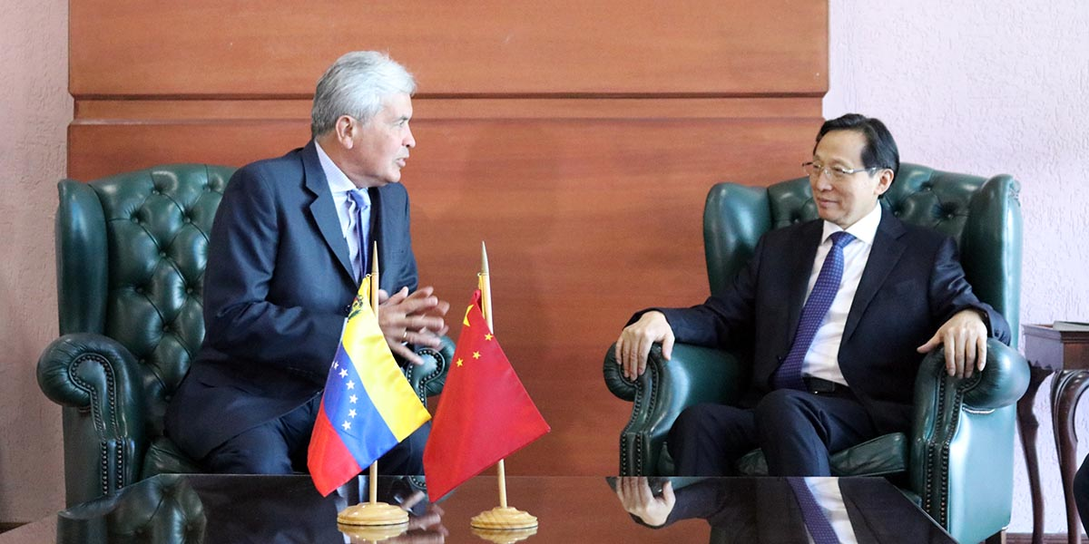 Ministro de Agricultura de China arriba a Venezuela para participar en juramentación del presidente Maduro