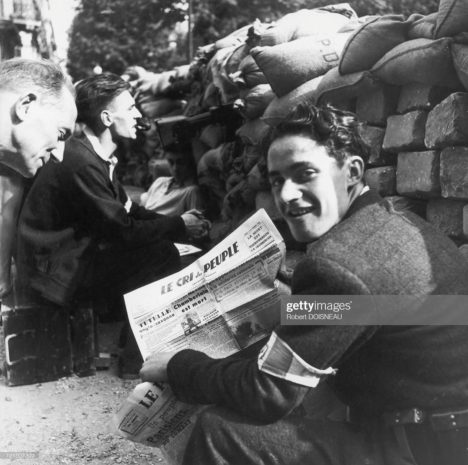 1944. Подпольные печатные издания стали обычным явлением