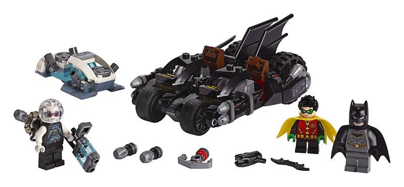 Mr. Freeze Batcycle Battle (76118)