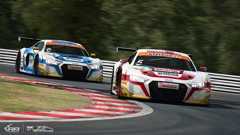 RaceRoom 2018 ADAC GT Audi 1