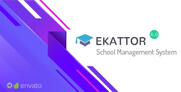 Ekattor School Management System Pro v6.2