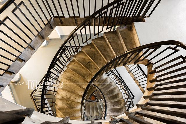 Stair Maze (II) - Dorset Estate - George Loveless House, Bethnal Green, London, UK