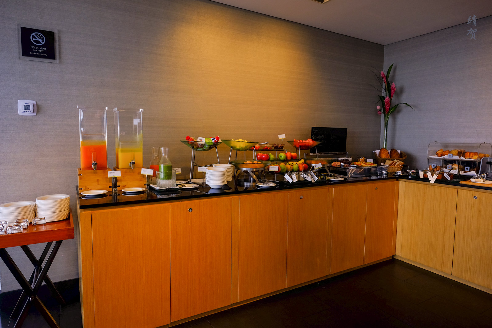Buffet counter