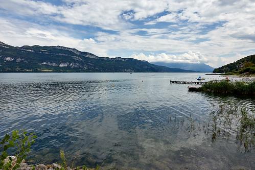 Le lac du Bourget depuis Conjux