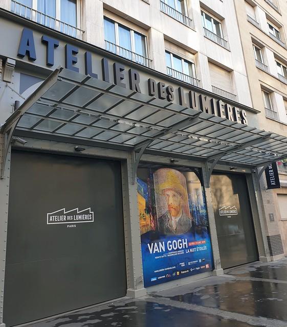 27/02/2019 Atelier des Lumières Paris 11e : Van Gogh / Japon