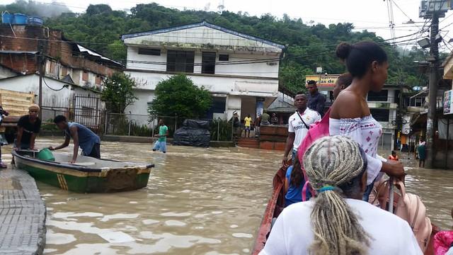 Tragedia ambiental en Istmina, Chocó
