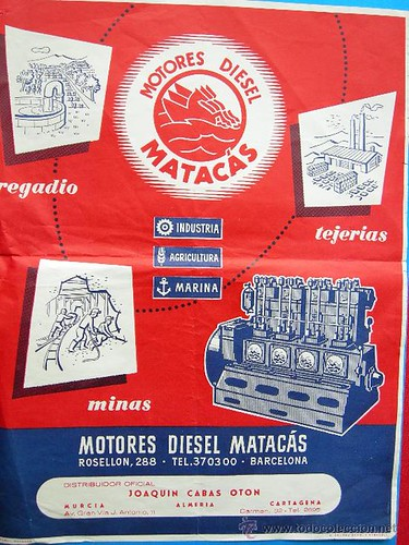 publicitat motor dièsel Matacas Múrcia i Almeria