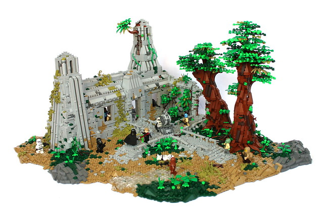 My Yavin 4 MOC based of SW Battlefront 2 (FULL OVERVIEW)