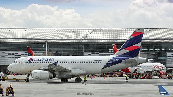 LATAM A320 BOG (Benjamín Concha)