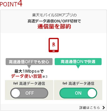 楽天モバイル スーパーホーダイ (4)