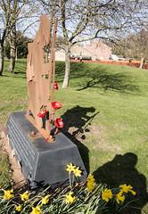 War memorial Shadows.