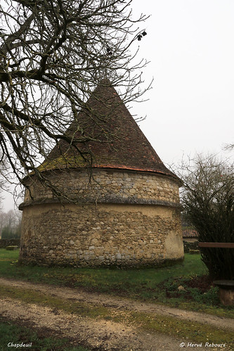 24 Chapdeuil - Pigeonnier Château