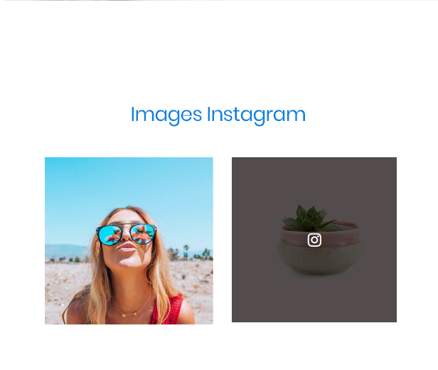 At Glasses Fashion Premium Prestashop Theme - Social network & Instagram image