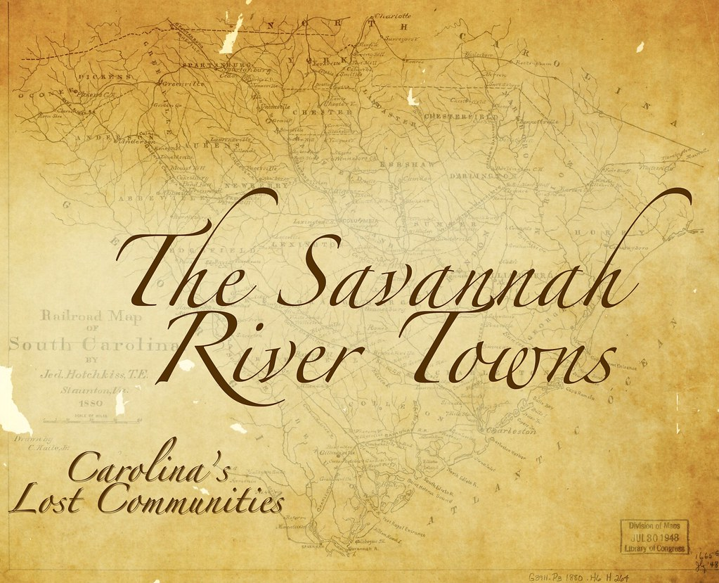 Lost Communities – The Savannah Towns