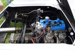 Lotus Europa Racae Car. Mk 1, with Renault engine & Dual Side-Draft Weber Carbs. [QE 2019 DSC_0518].