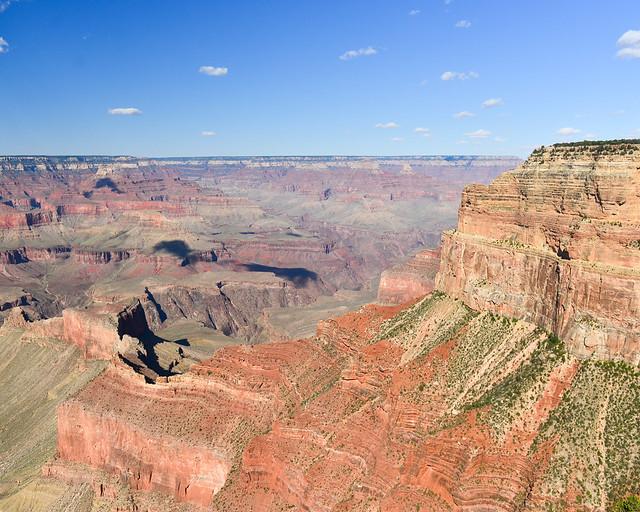 Una de las mejores vistas del Gran Cañón desde el mirador Mohave