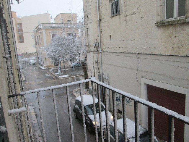 nevica a gioia
