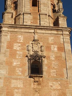 Iglesia de Santa Catalina - Ventana en la torre