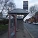 New no 1 bus stop shelter - Calthorpe Road, Edgbaston (Five Ways)