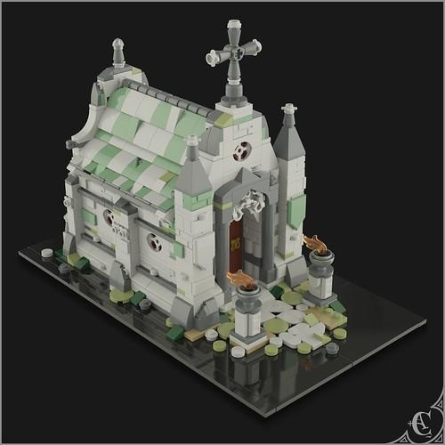 Neo Gothic Mausoleum