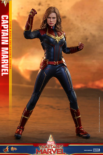 Hot Toys - MMS521 -《驚奇隊長》驚奇隊長 Captain Marvel 1/6 比例人偶作品
