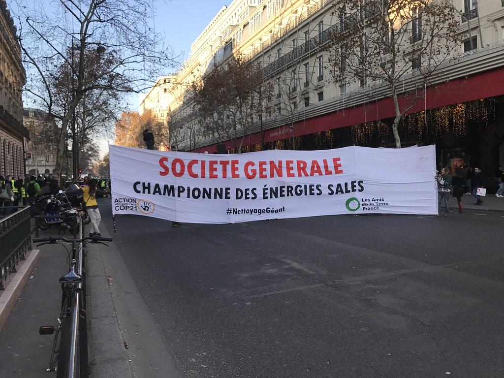 Nettoyage de la Société Générale
