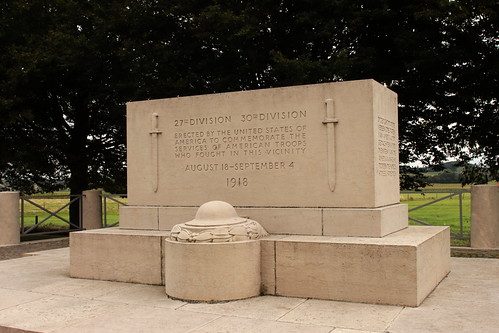 American Kemmel Monument near Vierstraat Belgium