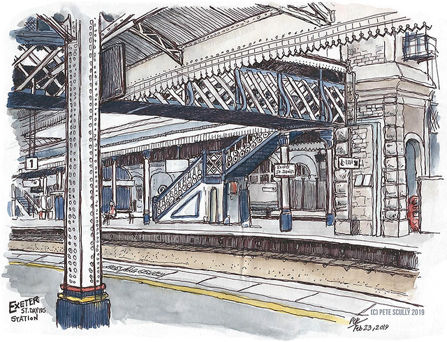 Exeter station, Devon