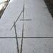 Follow Your Shadow sidewalk bronze poetry Locke St. S.