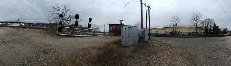 Along RR Sharpsburg and 62nd Street Bridge