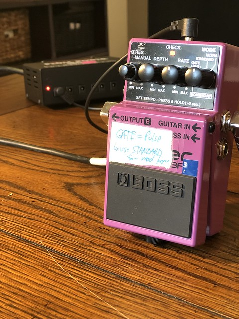 Photo:Boss BF-3 Flanger Pedal By GuitarChalk