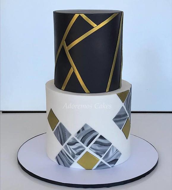 Cake by Adoremos Cakes