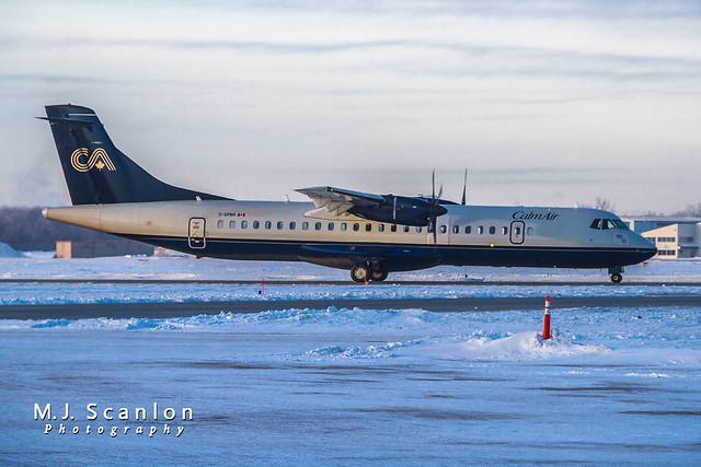 C-GPBR Calm Air International | ATR 72-202 | Winnipeg International Airport