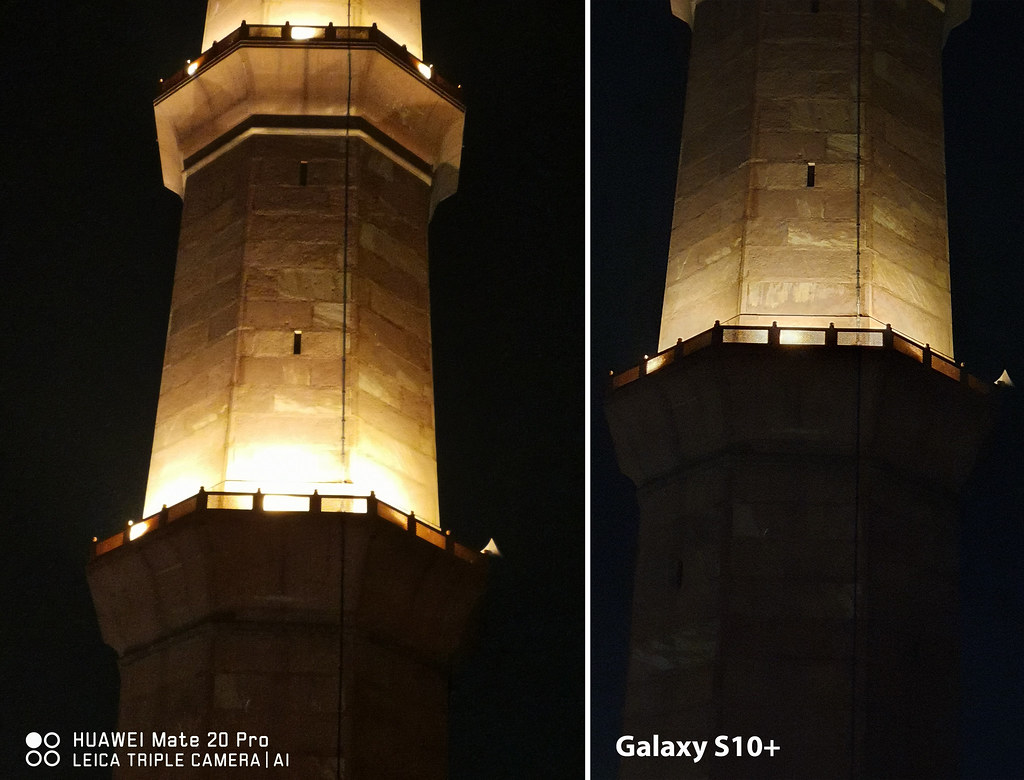 Mate 20 vs Galaxy S10+: Shot of Badshahi Mosque with 2X Zoom