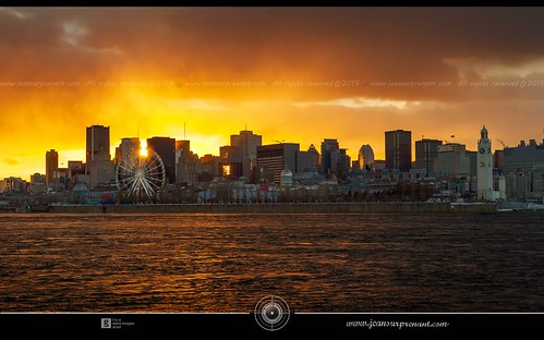 Misty montreal sunset DRI | by Jean Surprenant photomagiste