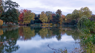 The colour of autumn in Maschteich