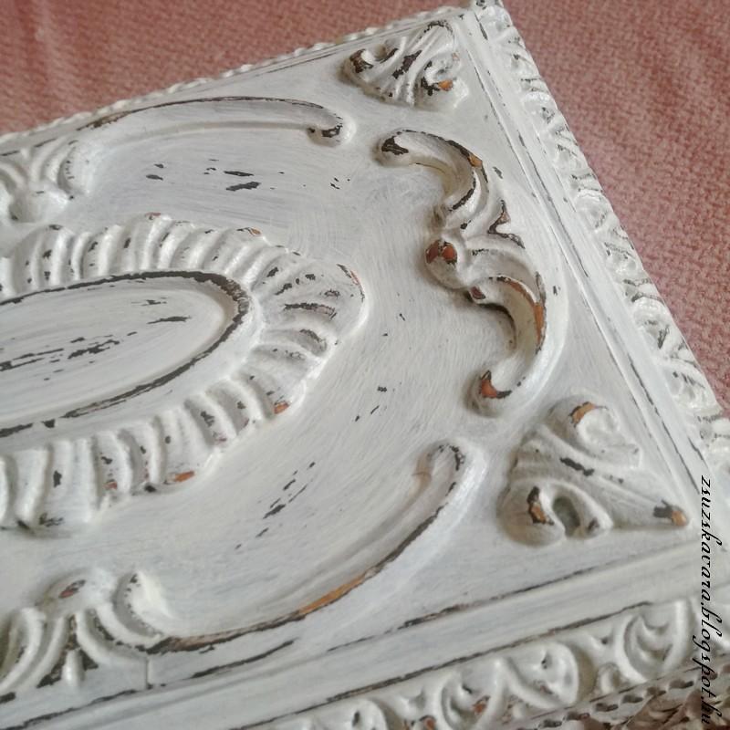diy painted box, antique (4)