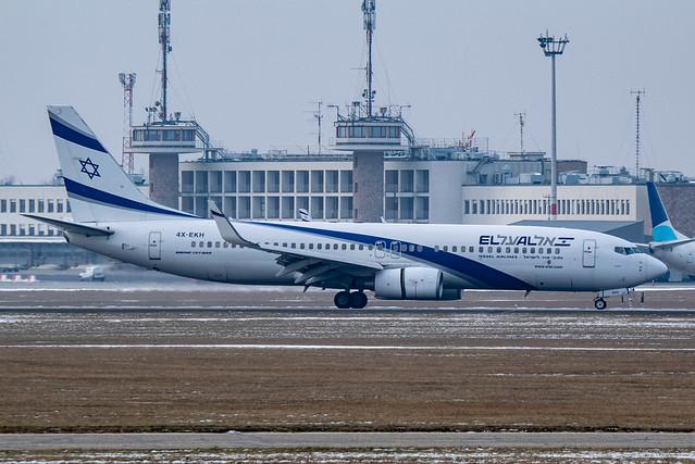 4X-EKH Boeing 737-85P EL, Nikon D5300, Sigma 50-100mm F1.8 DC HSM | A + 2x