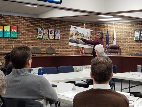 Okemos Village Concept Plans Revealed at Meridian Township DDA Meeting