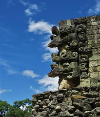 Chac-Mool sculptures