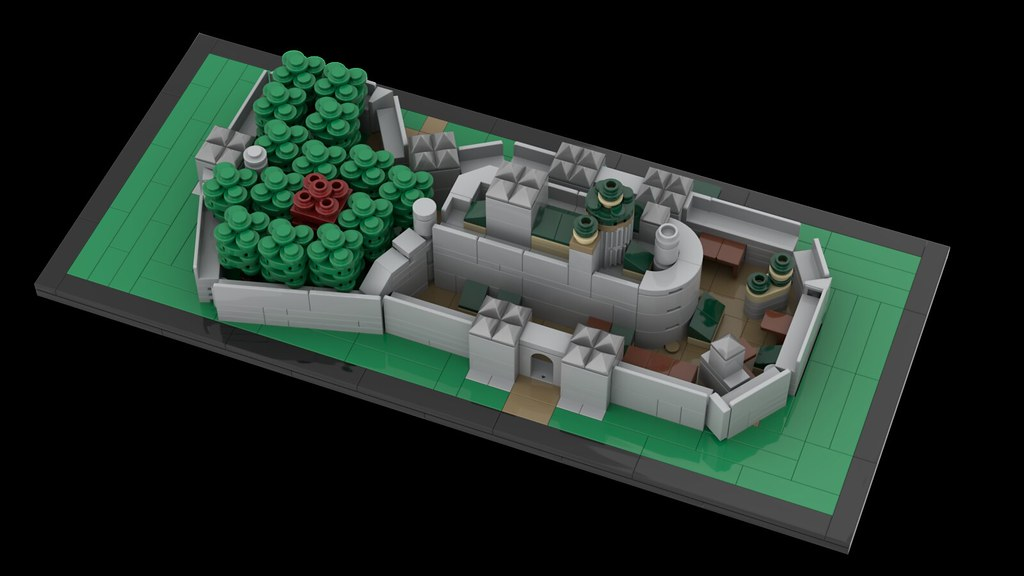 Movie series moc-23049winterfell architecture by momatteo79 mocbrickland