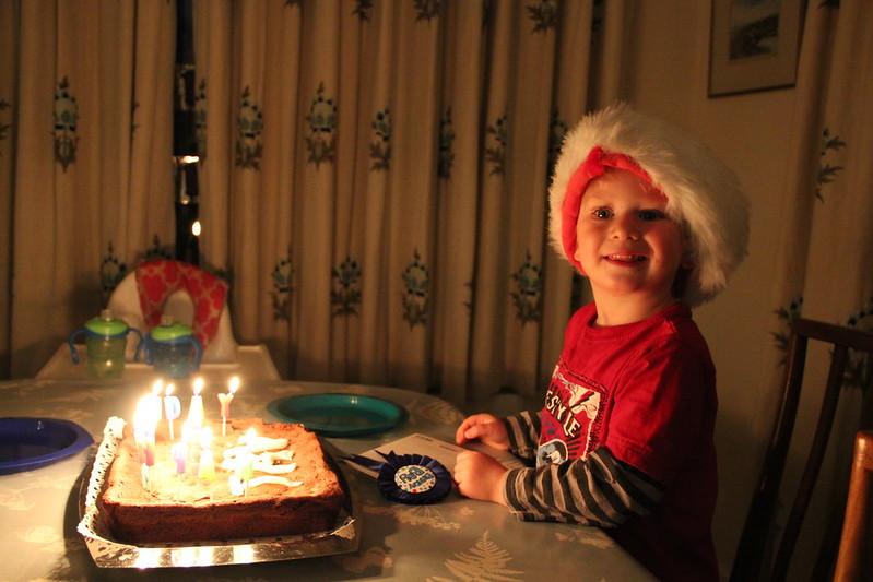 Tav's Third Birthday