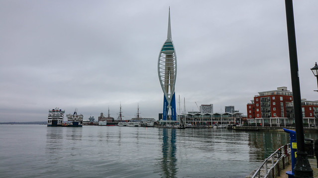 Portsmouth Harbour. Christmas Day, Canon EOS 80D, Canon EF-S 10-18mm f/4.5-5.6 IS STM