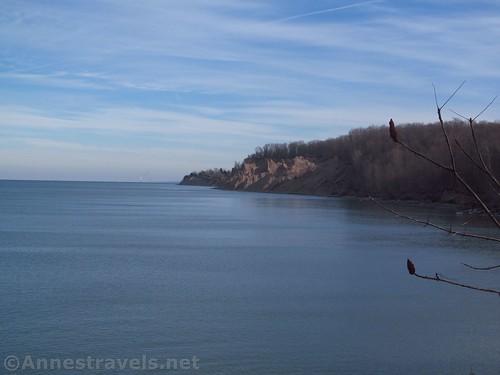 The Chimney Bluffs from Garner Point, New York