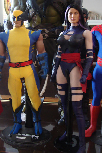 Toys Era Psylocke (Body swapped to a Phicen) 45832230874_fdb947f6f5_z