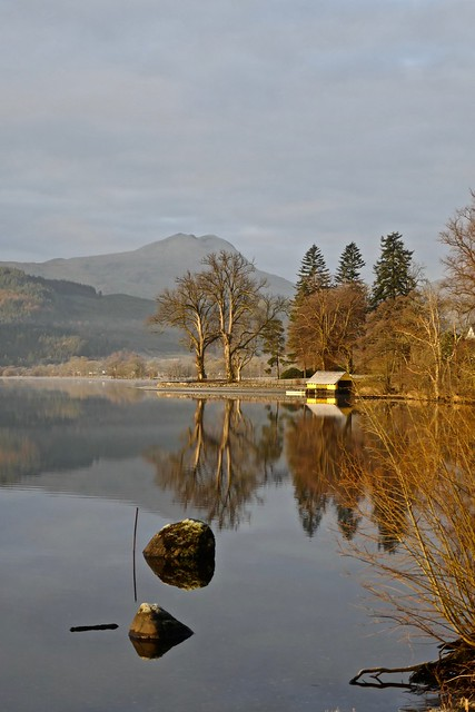 Loch Ard - morning, Panasonic DMC-TZ100