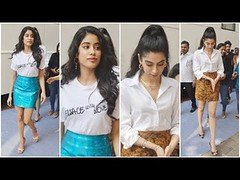 Cute Sisters Janhvi Kapoor And Khushi Kapoor At Neha Dhupia's Vogue BFFs Season 3