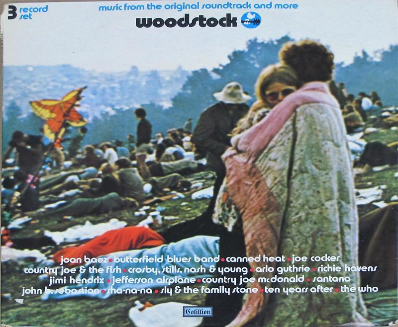 "Woodstock 69 Original Movie Soundtrack 3LP 12"" VINYL"