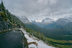 Views along the Going To The Sun Road, Glacier National Park, Montana